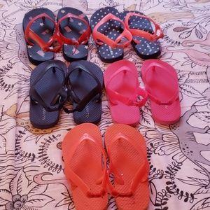 OldNavy toddler girl flip flops